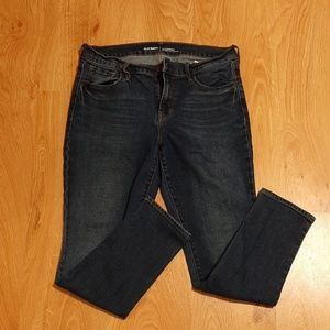 Old Navy Mid-Rise Skinny Jeans
